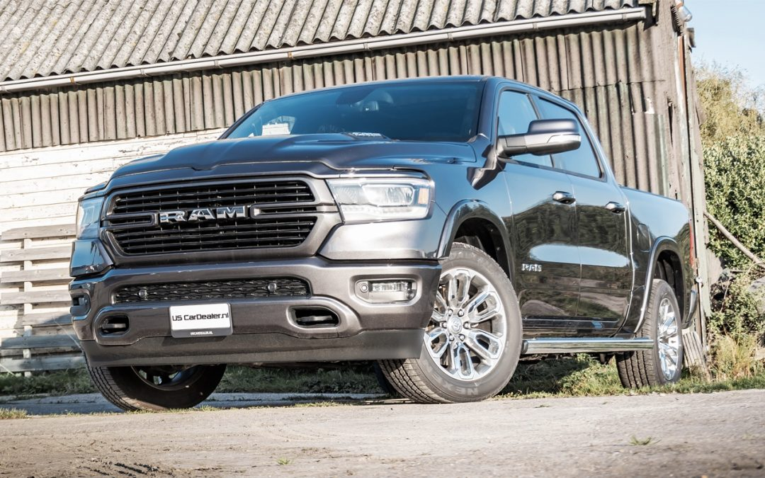Tijdelijk beschikbaar: RAM 1500 Laramie Sport, voor een super prijs!