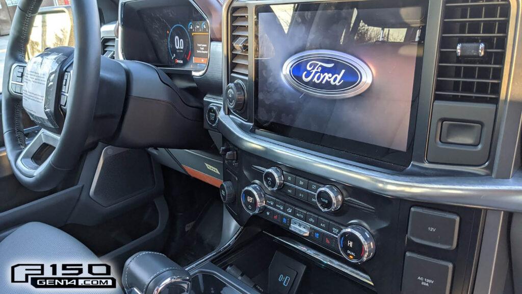 Dashboard 2021 Ford F-150