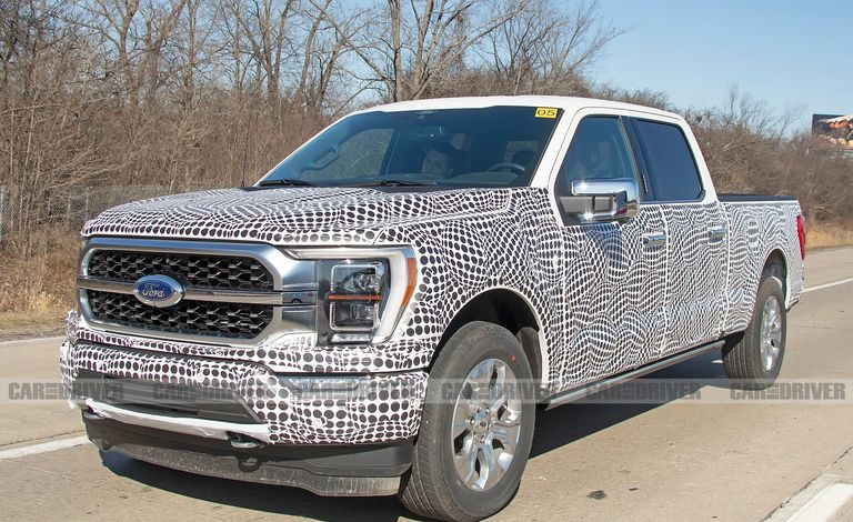 2021 Ford F-150 test auto spyshot