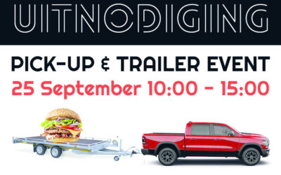 Pick-ups & Trailers & Burgers, 25 september